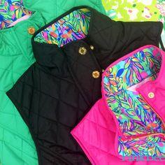 Lilly Pulitzer | Pink Bee  Getaway Vest $178
