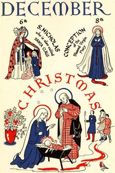 From My Book of the Church's Year, Enid M. Chadwick. (image courtesy of Project Canterbury via Eccentric Bliss)