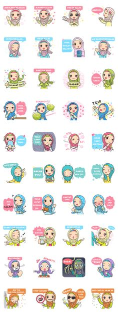 Bunga back again with new stickers that you can use everyday, let's use this stikers for you daily conversation