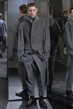 Haider Ackermann Men's RTW Fall 2014 - Slideshow