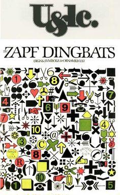 Zapf Dingbats | U&LC | ITC 1978
