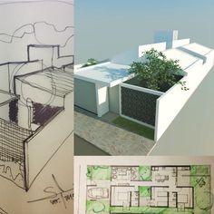 Projeto estudos Residência Maraisa, São Bento do Sapucaí SP. Breve no site o projeto completo, www.studiomaisarquitetura.com.br