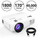 ad: DR.J (Upgraded) 1800Lumens 4Inch Mini Projector with 170 Inch Display - 40,000 Hour LED Full HD Video Projector 1080P, Compatible with Amazon Fire TV Stick, HDMI, VGA, USB, AV, SD (1.5M HDMI Cable)  Company:  THZY  List Price:  $198.99  Amazon Price:  $98.99  https://www.amazon.com/Upgraded-1800Lumens-4Inch-Projector-Display/dp/B07174LM85?SubscriptionId=AKIAINK752IUT74DHSYQ&tag=azoffice-20&linkCode=xm2&camp=2025&creative=165953&creativeASIN=B07174LM85