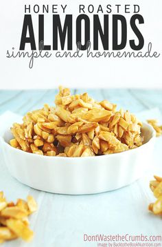 1000+ ideas about Honey Roasted Almonds on Pinterest | Roasted Almonds ...