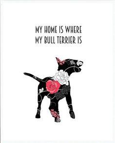 #bull #terrier art