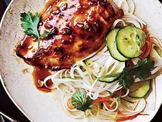 Miso combines with rice vinegar, soy sauce, honey, and chile paste to give a savory-sweet glaze to Miso Chicken. Asian Recipes, New Recipes, Cooking Recipes, Japanese Recipes, Japanese Food, Cooking Tips, Dinner Recipes, Favorite Recipes, Beef Tagine