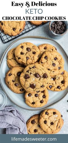 There's a reason why you can't stop eating keto chocolate chip cookies. They're like the perfect treat: they taste great, and it feels like you're doing something good for your body by eating them. But what if I told you that there was an even better way to have your cookie and eat it too? That's right! You can still enjoy these delicious cookies without all of the carbs.