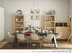 20 Elegant White Dining Room Designs