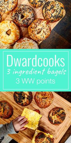 These three ingredient bagels greatly improve upon the two ingredient dough everyone is raving about right now on the internet.  These come out huge, with a more bagel-y flavor and none of that tangy aftertaste from the Greek yogurt.  These will definitely become a staple in your routine, plus they are so easy to make!  For more recipes, check out dwardcooks on Instagram and www.dwardcooks.com #dwardcooks #ww #weightwatchers #3sp #threeingredientbagels #breakfast