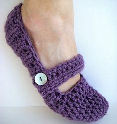 crochey slippers