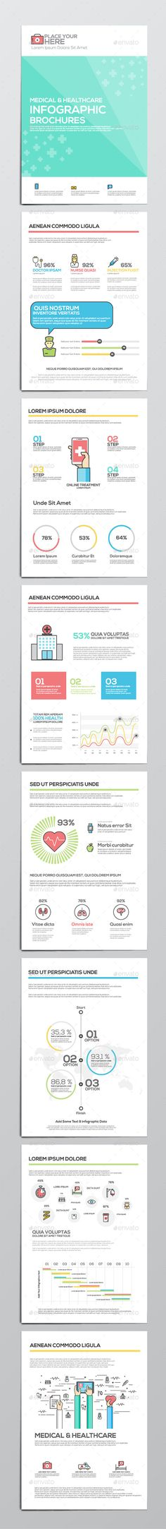 Medical and Healthcare Infographics - Infographics