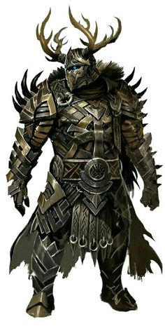 Dekür in Rüstung (Guild Wars 2 C. Dungeons And Dragons Characters, Dnd Characters, Fantasy Characters, Fantasy Character Design, Character Concept, Character Art, Character Ideas, Armadura Medieval, Guild Wars 2