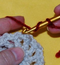 Get rid of that chain-3 -- How to begin a new round/color with the standing DC stitch