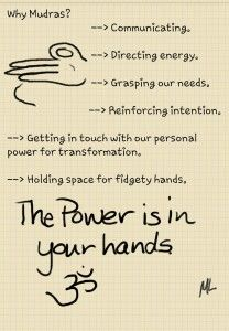 Mudra Note: Why Mudras? (Hold the Power) SimpleDailyUse
