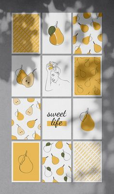 Women and Fruits Collection was inspired by summery mood and minimalistic line art. The bundle includes 36 pre-made posters, 3 seamless patterns and 27 separate illustrations. All files come in vector and raster formats. Perfect for cards, posters, wall art, modern art projects, moodboards, branding identity, patterns, social media accounts promotion (Instagram, Pinterest, blog) and for many more. Diy Wall Art, Modern Wall Art, Printable Stickers, Printable Wall Art, Art Minimaliste, Graphic Wallpaper, Wallpaper Art, Minimal Art, Pottery Painting Designs
