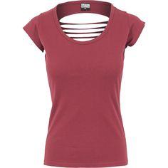 Ladies Cutted Back Tee - T-Shirt - Urban Classics