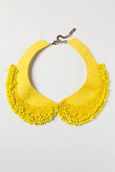 Yellow Collar   mishtiart.blogspot.com - follow me! :)