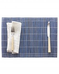 Dip-Dyed Bamboo Place Mats   Step-by-Step   DIY Craft How To's and Instructions  Martha Stewart