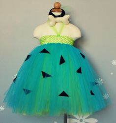 Pebbles Tutu Costume by CutieTututies on Etsy, $23.00