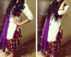 punjabi pant suits for women - Google Search