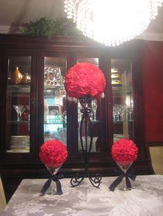 Custom/ Madetoorder Wedding Centerpiece/ Table by MyKreations4U, $99.00