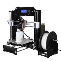 Big Size 200*200*210mm High Precision Reprap Prusa i3 DIY 3D Printer Kit with one roll filament + 8G SD card for free DHL