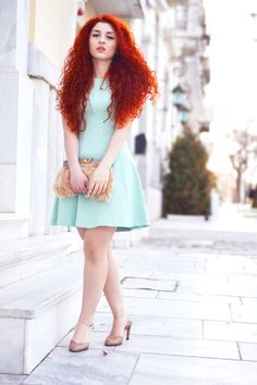 Fabulous mint dress from Zara - it needs to warm up so I can wear mine out!