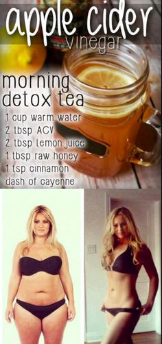 APPLE CIDER VINEGAR MORNING DETOX DRINK – Gust Of Wind~
