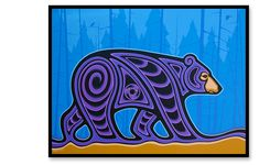 Mark Kulas - Going Home Canadian Art, Canadian Quilts, Native American Artwork, Woodland Art, Jr Art, Haida Art, Indigenous Art, Aboriginal Art, Native Art