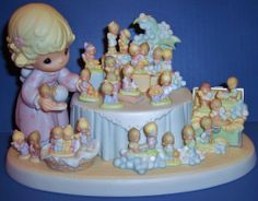 Precious Moments  From The Beginning  25th Anniversary Figurine  NIB