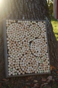wine cork projects--wine cork artwork from paperclutch