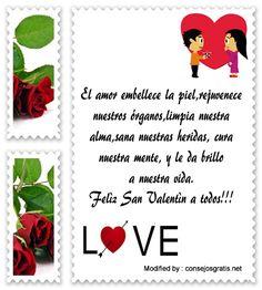 ,enviar postales del dia del amor y la amistad,enviar frases y tarjetas del dia del amor y la amistad: http://www.consejosgratis.net/frases-de-san-valentin-para-facebook/