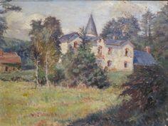 https://flic.kr/p/dX2JSX | L'Ermitage (vers 1915), Georges Lacombe - Exposition Les Univers de Georges Lacombe, Musée Maurice Denis, Saint-Germain-en-Laye (78) | L'Ermitage, au nord d'Alençon (61) près de la forêt d'Ecouves, est la demeure de Georges Lacombe, peintre et sculpteur, de 1897 jusqu'à sa mort en 1916. Paul Ranson, peintre et ami de Georges Lacombe, a vécu ici durant sa maladie, de 1899 à 1905.