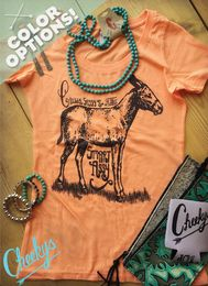 Classy, Sassy and a Bit Smart Assy Scoop Tee with Smolder Print