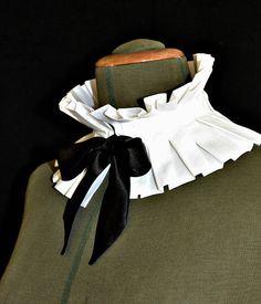 Produced from cotton cloth with black satin ribbon. Excessive 12 cm ( ) Really useful dry cleansing for this merchandise . Diy Fashion, Fashion Dresses, Womens Fashion, Fashion Design, Motif Corset, Victorian Fashion, Vintage Fashion, Moda Peru, Collar Designs