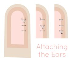 Bunny Ear Attaching Diagram