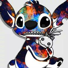 Colorful stitch