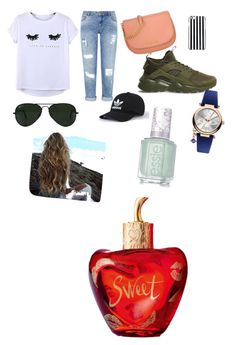 """les garçons vont tomber sous le charme"" by bensakina on Polyvore featuring Chicnova Fashion, Miss Selfridge, NIKE, Michael Kors, MICHAEL Michael Kors, Ray-Ban, Vivienne Westwood, Lolita Lempicka and Essie"