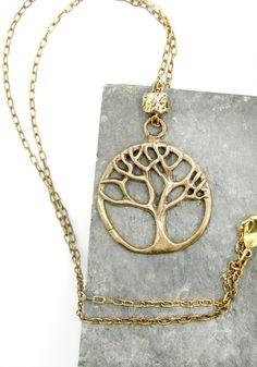 tree of life necklace tree necklace boho by WyomingCreativeEast