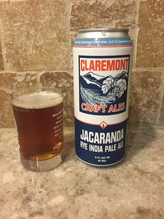 Jacaranda IPA from Claremont Craft Ales in Claremont, California is one of the best IPAs I've ever tasted.