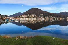 Lugano Lake, Elveţia şi Italia