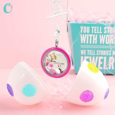 What a cute Easter surprise from Origami Owl!  www.angierhoads.origamiowl.com