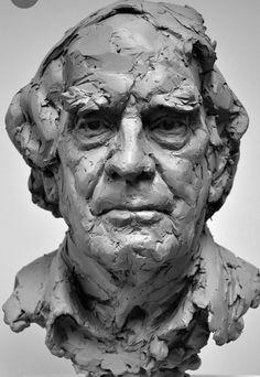 Human Sculpture, Sculpture Head, Sculptures Céramiques, Pottery Sculpture, Modern Sculpture, Anatomy Sculpture, Traditional Sculptures, Sculpture Techniques, Portrait Art