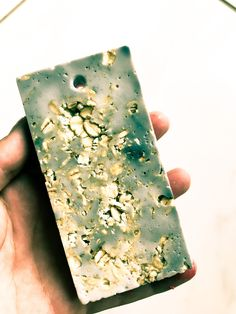 This is a beautiful gentle soap, made with Oatmeal which gently exfoliates and Ylang Ylang - a calming essential oil that is often used for healthy looking skin.
