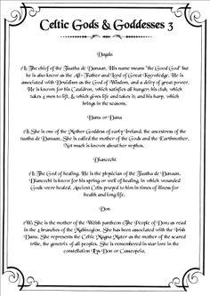 Celtic Deities 3
