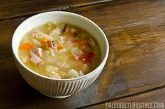 Cabbage Soup with Leftover Ham
