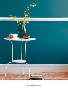Marine Blue - Blue Paint Colours - Shop by Colour - Paint - little greene hallway