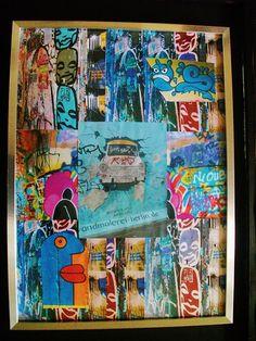Street Art Berlin. Sold on Behance Street Art, Behance, Painting, Painting Art, Paintings, Painted Canvas, Drawings