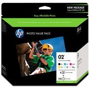 HP NO 02 PHOTO VALUE PACK (Q7964AN) Check out other cheap supplies, free shipping!!!