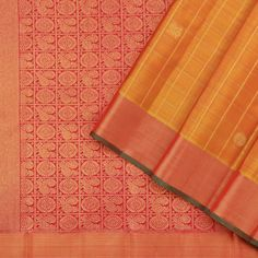 "Kattam & Vari - Checks and Stripes – tagged ""Craft/Fabric_Kanjivaram Silk"" – Page 6 – Kanakavalli Kanakavalli Sarees, Latest Silk Sarees, Silk Saree Kanchipuram, Bold Colors, Fabric Crafts, Color Blocking, Paisley, Hand Weaving, Sari"